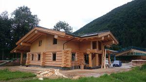Blockhaus In Kanadischer Naturstammbauweise - Einfamilienhaus In Kirchdorf (3)