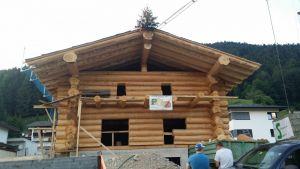Blockhaus In Kanadischer Rundblockweise - Einfamilienhaus In Rettenschöss