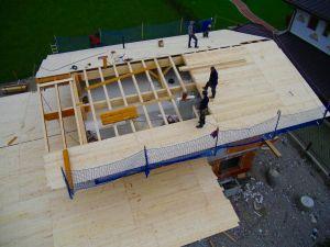 einfaches Satteldach