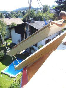 fertige Dachelemente