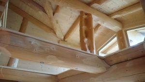Dachstuhl, Säulen Innen