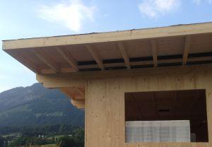 Holzhaus Schichtverleimt