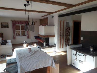 Küche, Wohnzimmer Nachher