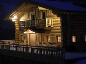 Kanadisches Rundblockhaus - Schihütte 5