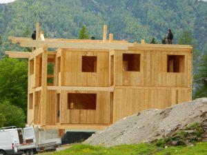 Massivholzhaus