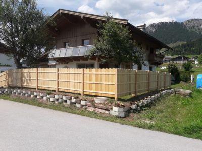 Sichtschutzzaun In Fieberbrunn