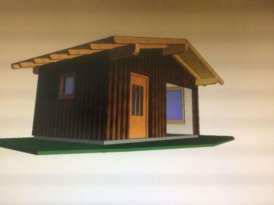 Visualisierung Gartenhütte