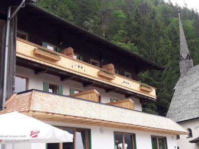 Neuer Balkon Und Attika Gasthof Adolari